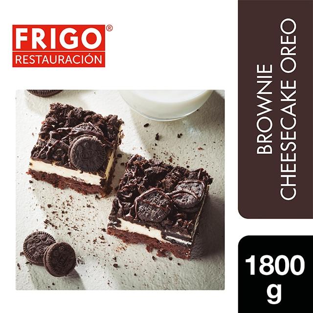 Brownie Cheesecake Oreo Frigo Restauración 1,8Kg - Las tartas y bizcochos de Frigo Restauración están preparadas tal y como tú las harías