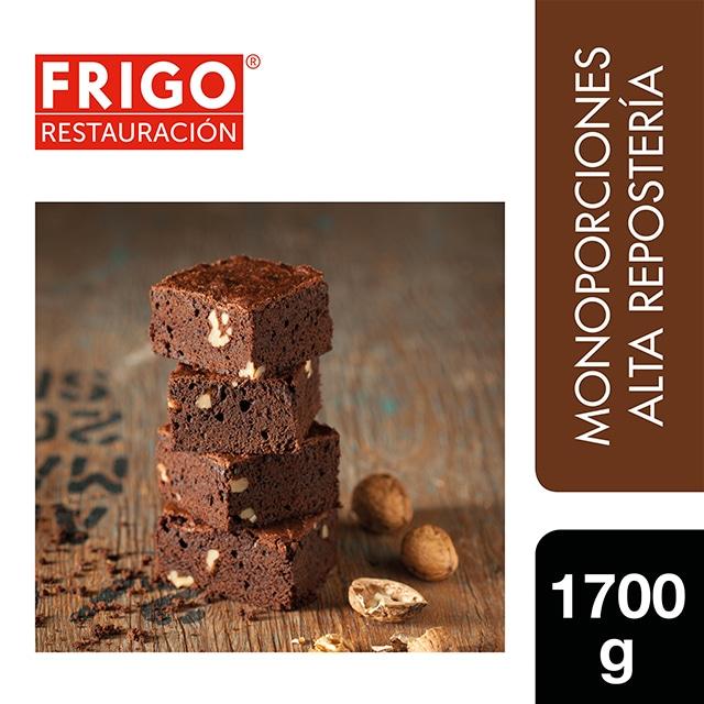 Brownie con Nueces Frigo Restauración 1,7Kg - Las tartas y bizcochos de Frigo Restauración están preparadas tal y como tú las harías