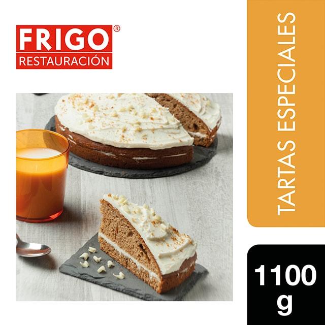 Carrot Cake con Queso Frigo Restauración 1,1Kg - Las tartas y bizcochos de Frigo Restauración están preparadas tal y como tú las harías