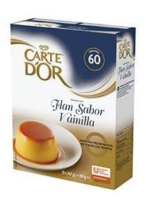 Flan de vainilla deshidratado Carte d'or 60 raciones -