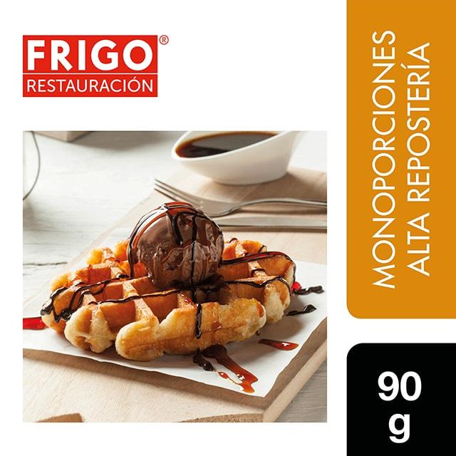 Gofre Listo Frigo Restauración 90gr - Las tartas y bizcochos de Frigo Restauración están preparadas tal y como tú las harías