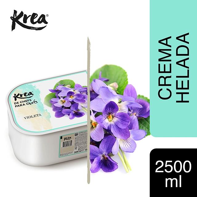 Helado de Violeta Krea 2,5L - La gama de Helados KREA, exclusiva de Restauración, te ofrece sabores sorprendentes como el Violeta para crear platos originales