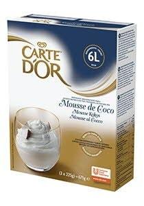 Mousse sabor Coco Carte d'Or 60 raciones -