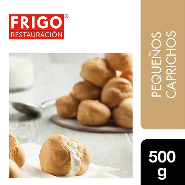 Profiteroles Frigo Restauración 500gr - Las tartas y bizcochos de Frigo Restauración están preparadas tal y como tú las harías, pequeños caprichos como los Profiteroles