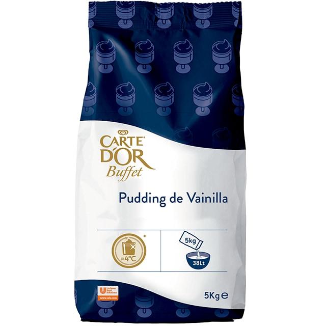 Pudding de Vainilla Carte D'Or 5Kg - La nueva gama de gran rendimiento Carte d'Or, está diseñada para aportar versatilidad a tu oferta, con la máxima conveniencia y control a tu rentabilidad
