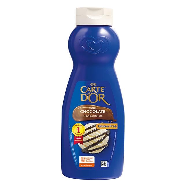 Sirope de chocolate Carte d'Or botella 1L - El Sirope de chocolate Carte D'Or te ofrece el mejor sabor del mercado*