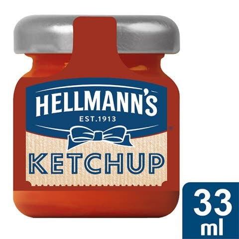 Hellmann's Mini tarro de cristal Ketchup -