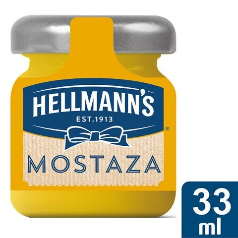 Hellmann's Mini tarro de cristal Mostaza -