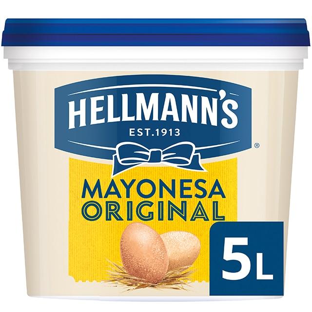 Hellmann's Original mayonesa sin gluten cubo 5L