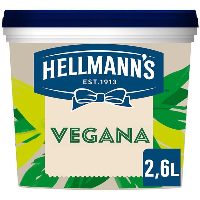 Hellmann's Vegana sin gluten cubo 2,6L