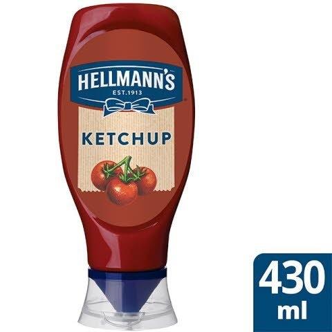 Ketchup Hellmann's bocabajo 486g Sin Gluten -