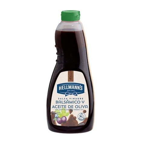 Salsa para ensalada Hellmann's de vinagre Balsámico botella 1L -
