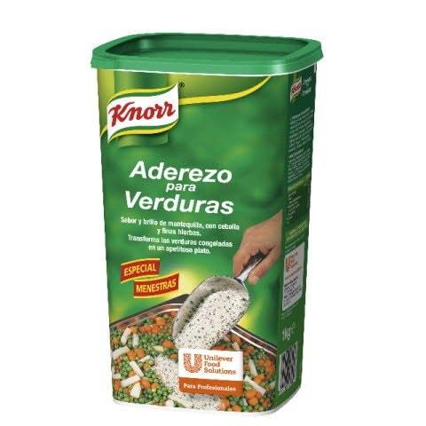 Knorr Aderezo para Verduras deshidratado bote 1Kg -