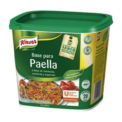Knorr Base para Paella Pasta Sin Gluten 1Kg -