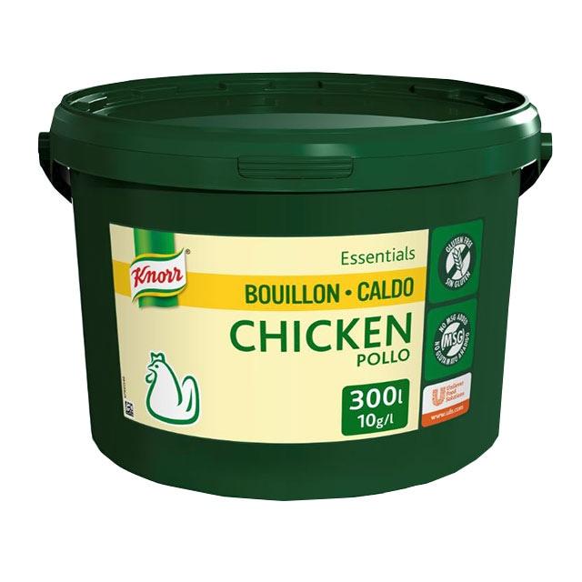Knorr Caldo Base Clean Label Pollo 3KG Sin Gluten - Sin alérgenos declarables** y con etiqueta limpia