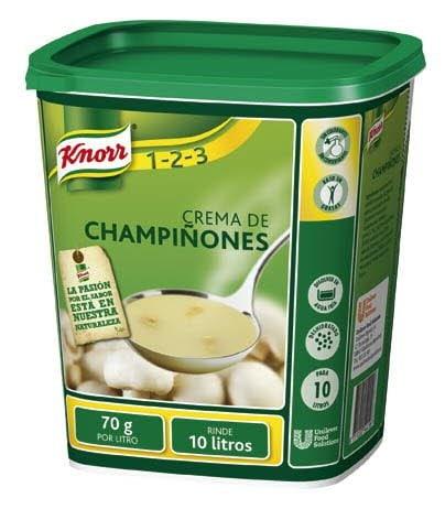 Knorr Crema de Champiñones deshidratada bote700g -