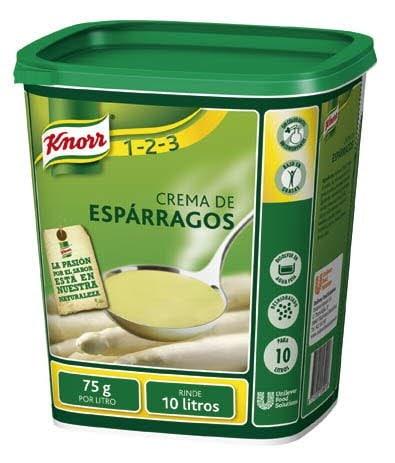 Knorr Crema de Espárragos deshidratada bote 750g -