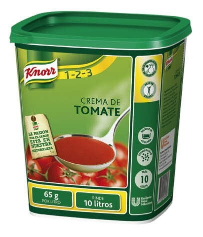 Knorr Crema de Tomate deshidratada bote 650g -