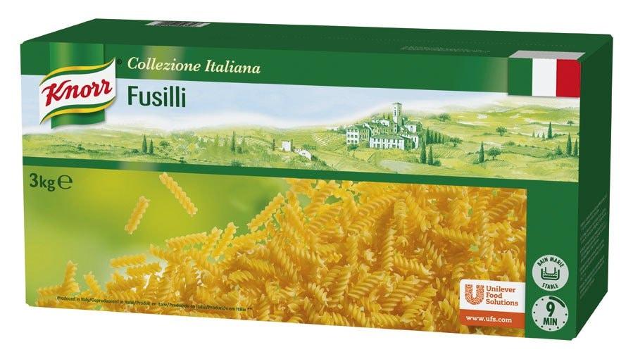 Knorr Fusilli Pasta Seca Caja 3 Kg -