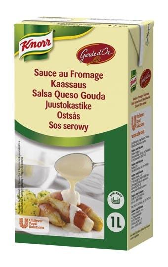 Knorr Garde D'Or Salsa Queso Gouda líquida lista para usar brik 1L -
