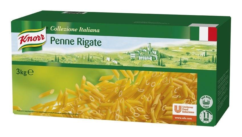 Knorr Penne Rigate Pasta Seca Caja 3 Kg -