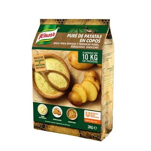 Knorr Puré de patatas copos bolsa 2Kg -