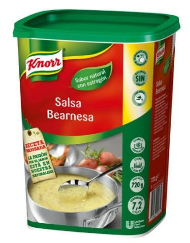 Knorr Salsa Bearnesa deshidratada bote 720g -