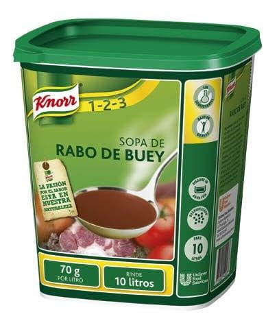 Knorr Sopa de Rabo de Buey deshidratada bote 700g -