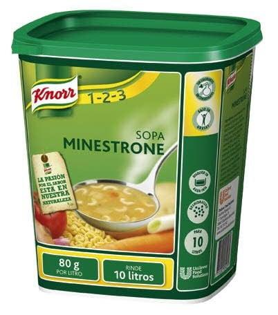 Knorr Sopa Minestrone  deshidratada bote 800g -