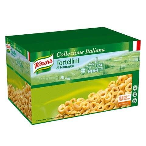 Knorr Tortellini con Queso Pasta Rellena Caja 3 Kg -