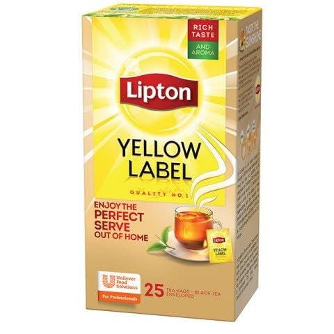 Lipton Té Yellow Label Tea Caja de 25 Sobres