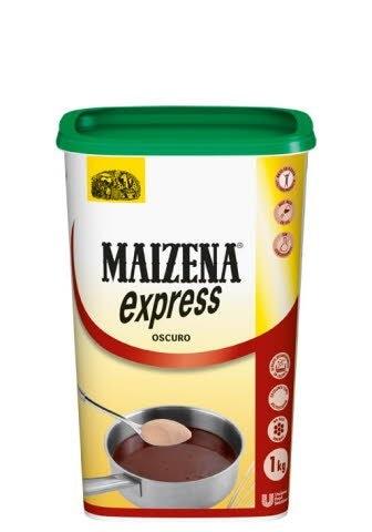 Maizena Harina Fina de Fécula de patata Espesante oscuro Sin Gluten Caja 1Kg -