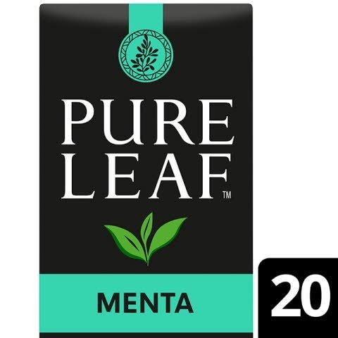 Pure Leaf 6x30g Peppermint, Caja 20 sobres -