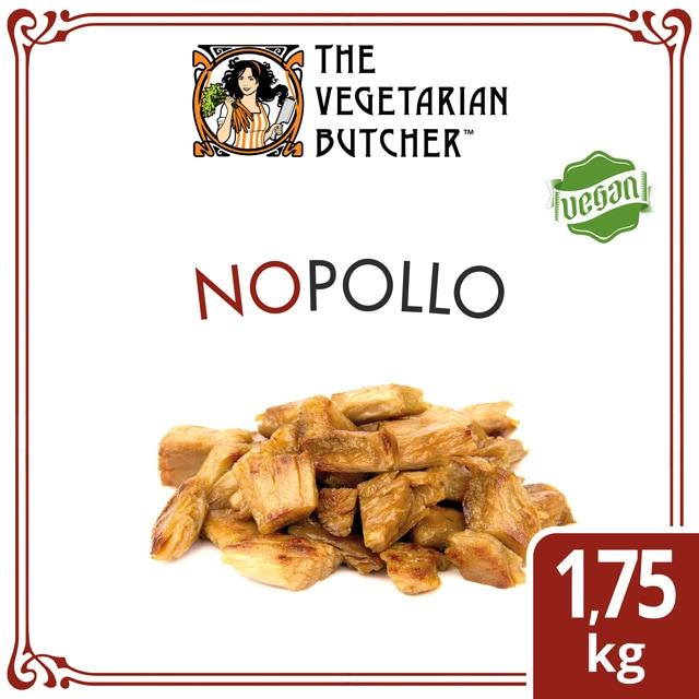 """The Vegetarian Butcher Nopollo caja 1,75kg - The Vegetarian Butcher """"Tan jugoso como el pollo, más tierno que el cerdo y 100% vegetariano"""" Jaap Korteweg, fundador de The Vegetarian Butcher"""