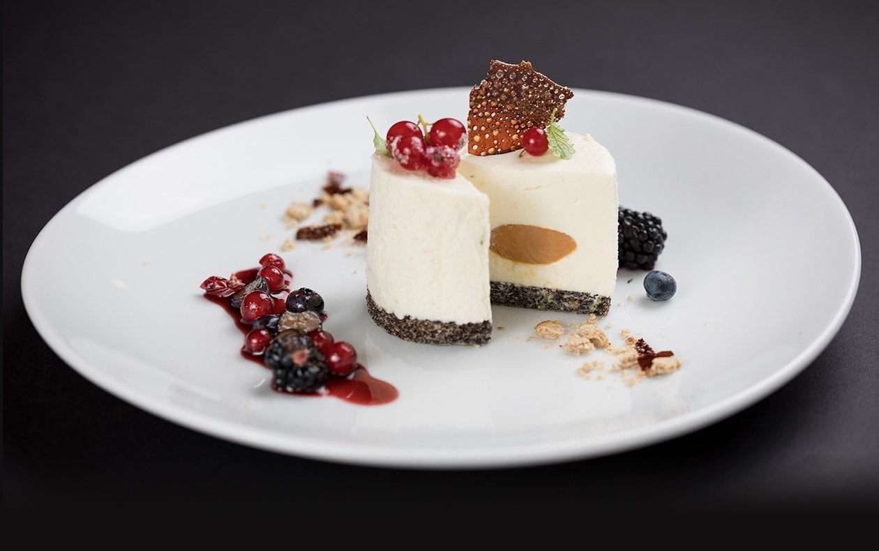 Crema de chocolate blanco a la leche de coco
