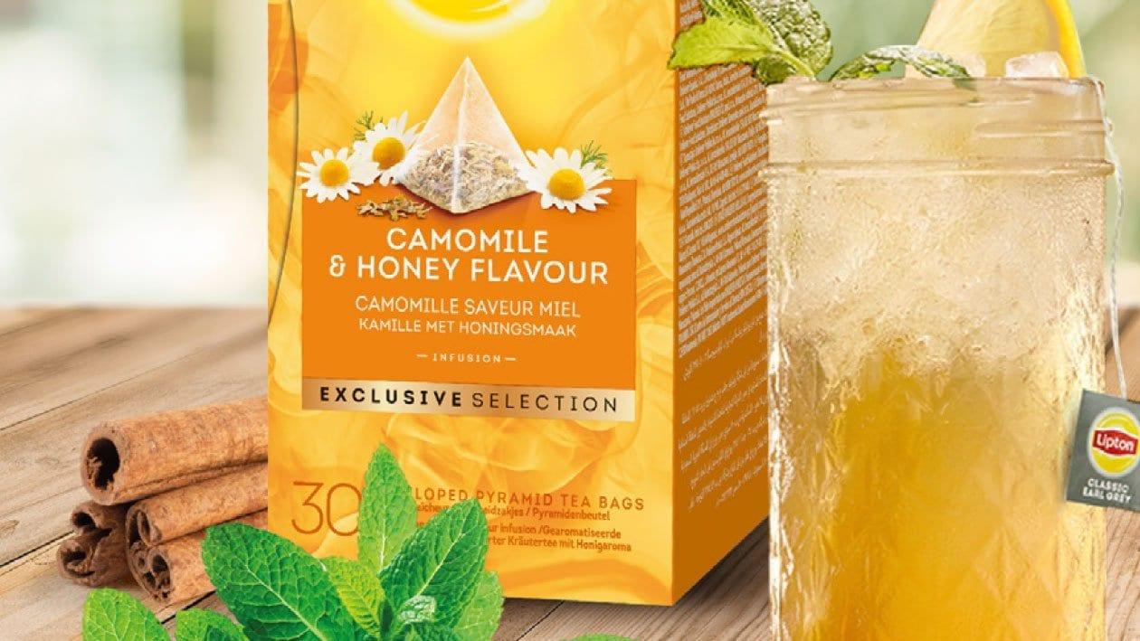 Cóctel de manzanilla y fruta de la pasión - Té Gama selección exclusiva