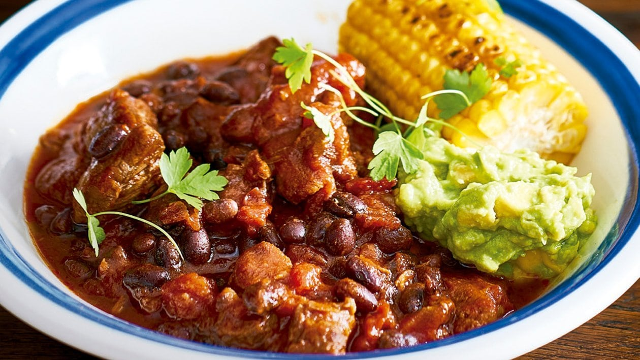 Low and slow chipotle chilli bowl