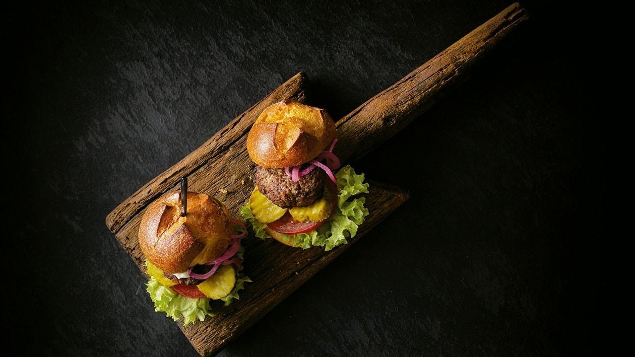 Mini burger de Wagyu