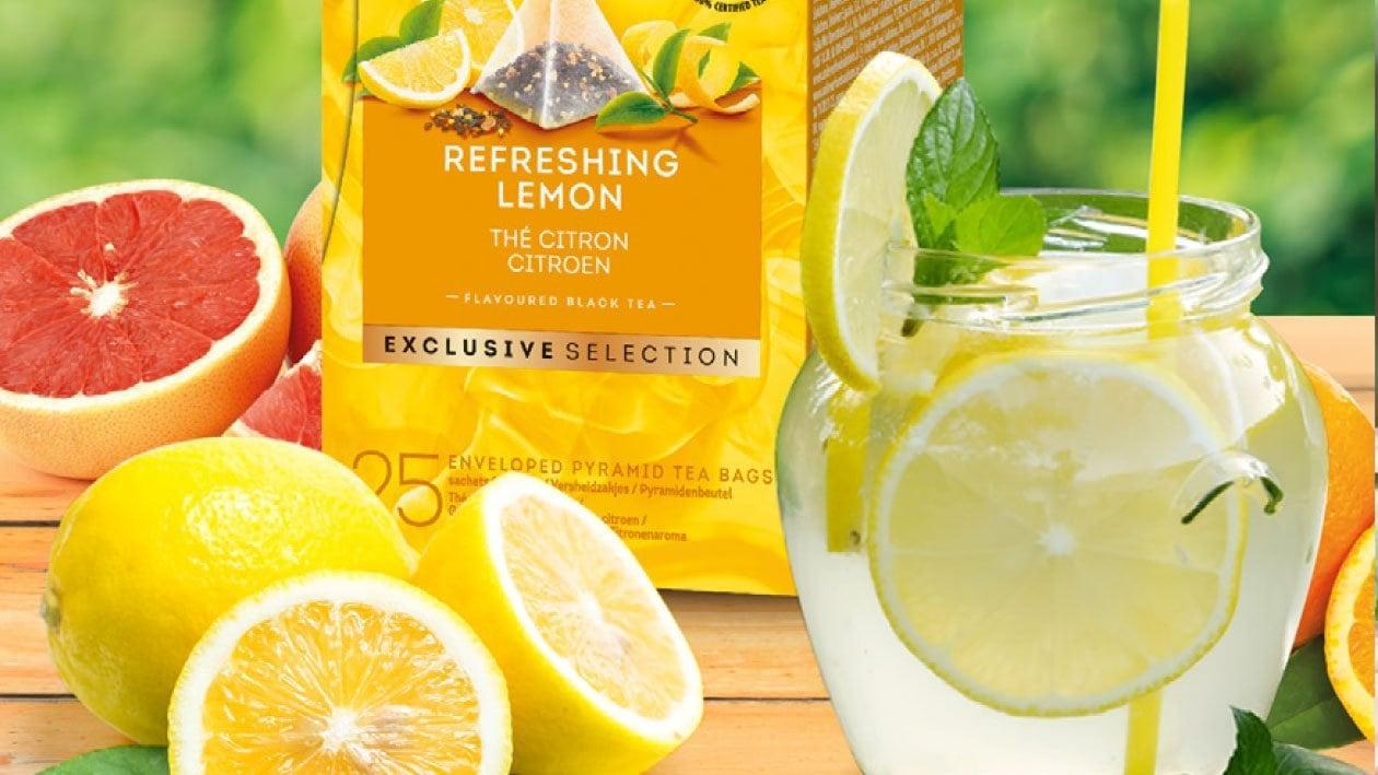 Té helado de limón fresco - Té Gama selección exclusiva
