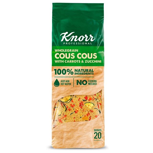 Knorr Cous Cous - Súper Ensaladas Knorr, mezclas con ingredientes 100% naturales, ideales para crear platos nutritivos y atractivos