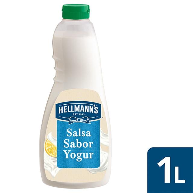 Hellmann's salsa para ensalada sabor Yogur sin gluten 1L - Nuevas Salsas para Ensalada Hellmann's, ahora sin gluten, el mejor ingrediente para inspirar tu creatividad