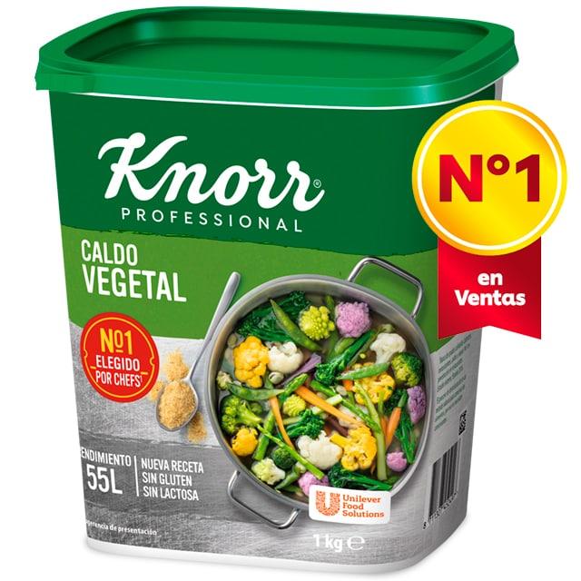 Knorr Caldo Vegetal deshidratado bote 1kg -